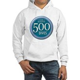 500 Dives Milestone Hooded Sweatshirt