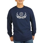 Fire Dept Tattoos Long Sleeve Dark T-Shirt