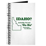 "Not ""Da Ho"" Journal"