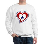 Heart service Flag - Airman Sweatshirt
