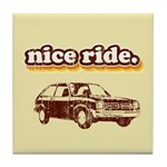 Nice Ride Tile Coaster