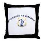 Air National Guard - Freedom Throw Pillow