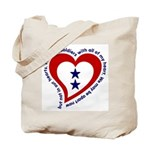 2 Star Service Flag - Soldiers Tote Bag