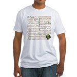 Shakespeare Insults T-shirts & Gifts Fitted T-Shirt