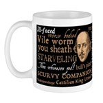 Shakespeare Insults T-shirts & Gifts Mug
