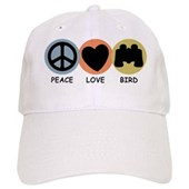 Peace Love Bird Cap