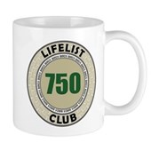 Lifelist Club - 750 Mug