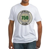 Lifelist Club - 750 Fitted T-Shirt