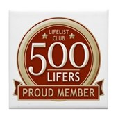 Lifelist Club - 500 Tile Coaster