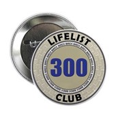Lifelist Club - 300 Button