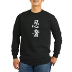 Ninja Kanji Shirt, Long Sleeves