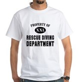 Rescue Diving Department White T-Shirt