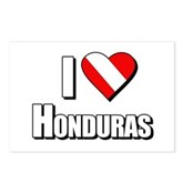  Scuba: I Love Honduras Postcards (Package of 8)