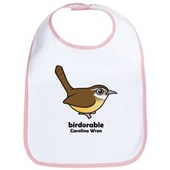 Birdorable Carolina Wren Bib