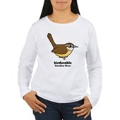 Birdorable Carolina Wren Women's Long Sleeve T-Shi