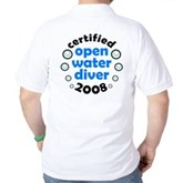 Open Water Diver 2008 Golf Shirt