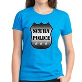 Scuba Police Women's Dark T-Shirt