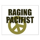Raging Pacifist Small Poster