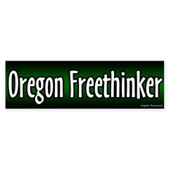 Oregon Freethinker Bumper Sticker
