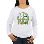Birdorable Peace Dove Women's Long Sleeve T-Shirt