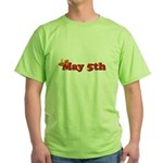 May 5th Sombrero Green T-Shirt