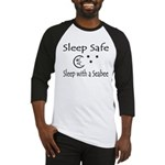 Sleep Safe Sleep with a Seabee Baseball Jersey