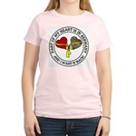Part of my Heart is in Germany Women's Light T-Shi