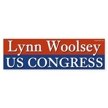 Re-Elect Lynn Woolsey to Congress Button