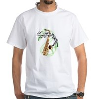 Tenor Saxophone White T-Shirt