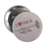 "I Love Ska 2.25"" Button (100 pack)"