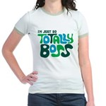 Totally Boss Jr. Ringer T-Shirt