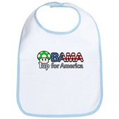 Obama 1up for America Bib