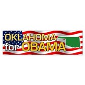 Oklahoma for Obama Bumper Sticker