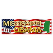 Mississippi for Obama Bumper Sticker