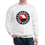 Obama For Peace Sweatshirt