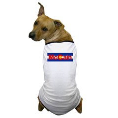 Colorado for McCain Dog T-Shirt