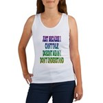 Just Because... Women's Tank Top