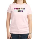 Autistics Rock Women's Light T-Shirt