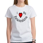 I Heart My Perseverations Women's T-Shirt