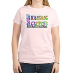 Autistic Activist v1 Women's Light T-Shirt