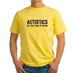 True Voice of Autism Yellow T-Shirt