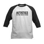 True Voice of Autism Kids Baseball Jersey
