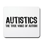 True Voice of Autism Mousepad