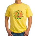 Built This Way Yellow T-Shirt