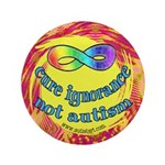 "Cure Ignorance 3.5"" Button"