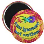 Cure Ignorance 2.25&quot; Magnet (10 pack)