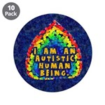 I Am Human 3.5&quot; Button (10 pack)