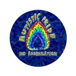 "Autistic Pride 3.5"" Button"