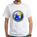 Autistic Planet White T-Shirt