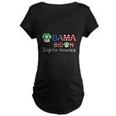 2up for America Maternity Dark T-Shirt